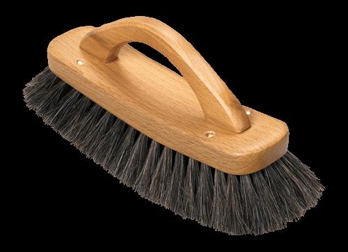 Schuhglanzbürste mit Bügelgriff