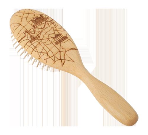 Holzhaarbürste