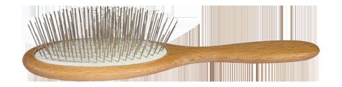 Drahthaarbürste für langes Haar