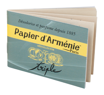 Geruchsverzehrer: Papier d'Armenie