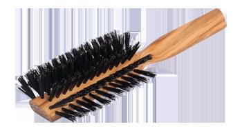 Haarbürste – Stirneinzug