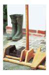 Vorschau: Fußabtreter mit Stiefelknecht